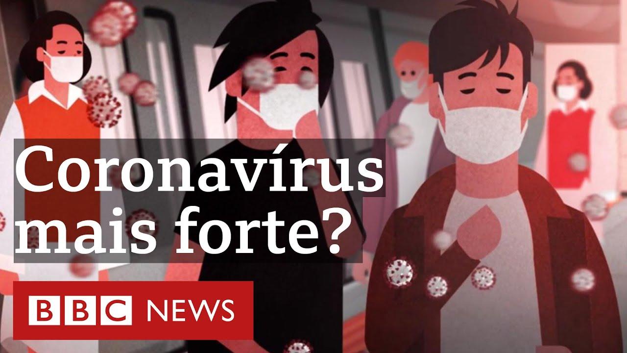 Mutações do coronavírus podem estar deixando a covid-19 mais infecciosa?