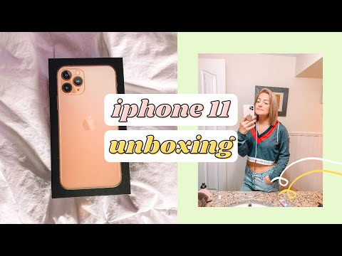 IPHONE 11 PRO UNBOXING (2020)