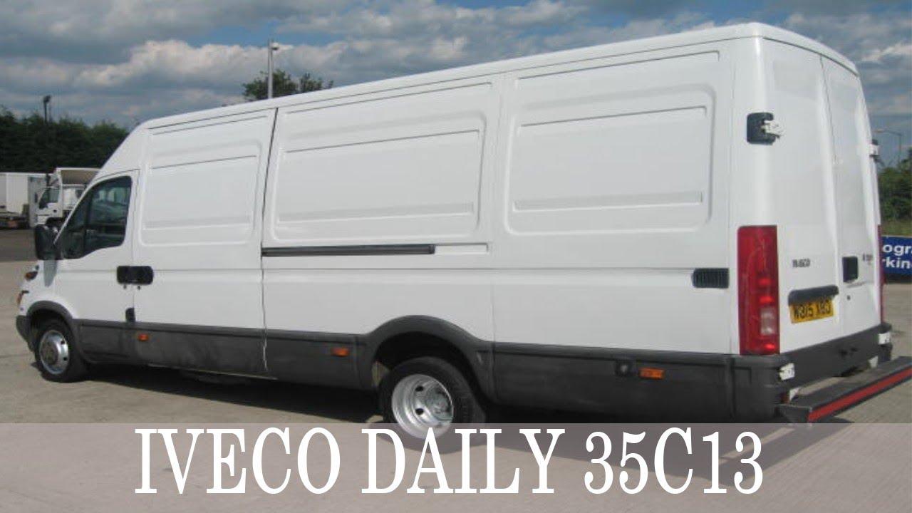 Авто из Германии: IVECO DAILY 35C13 - YouTube