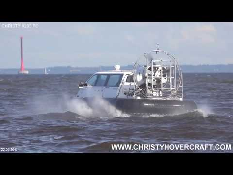 Hovercraft Christy 8205 FC.  New type of Hovercraft Skirt for aggressive driving./Новый тип ГО