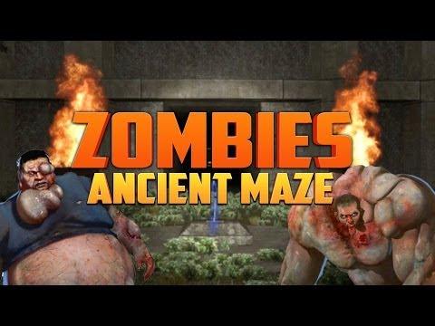 ANCIENT ZOMBIE MAZE ★ Left 4 Dead 2 (L4D2 Zombie Games)