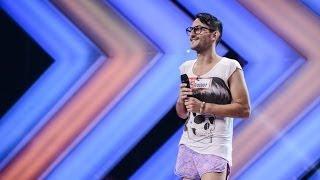 X Factor Romania, sezonul trei - Prezentare: Paolo Lagana, un tânar italian neînteles