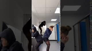 Schoolgirls in black tights - Pantyhose 97