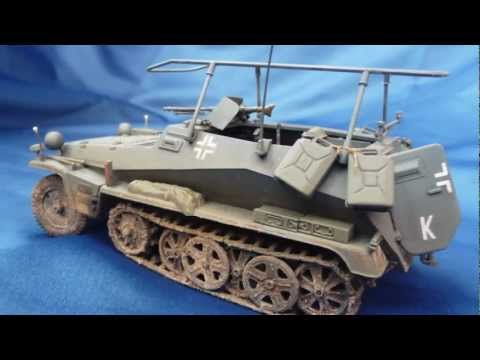 tamiya sd kfz 250 3 in 1 35 scale upgrade youtube. Black Bedroom Furniture Sets. Home Design Ideas