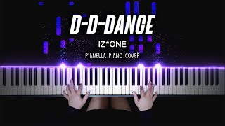 IZ*ONE - D-D-DANCE | Piano Cover by Pianella Piano видео