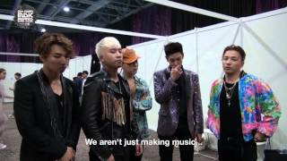 MAMA 2015 - Let's Go Backstage with Big Bang!