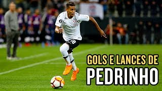 Gols, lances e dribles de Pedrinho, do Corinthians (2018)