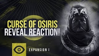 Reacting To Destiny 2's Curse of Osiris Reveal | New Leviathan Raid, Weapon Crafting & More!