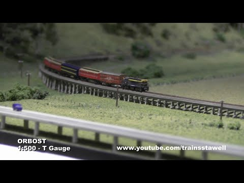 Orbost – Model Railway Exhibition Layout – T Gauge