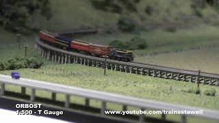 Orbost - Model Railway Exhibition Layout - T Gauge