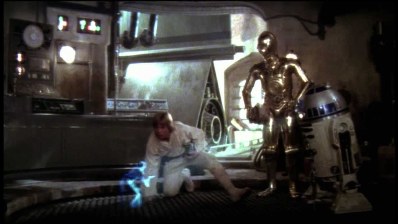 Star Wars Episode Iv A New Hope Trailer Youtube