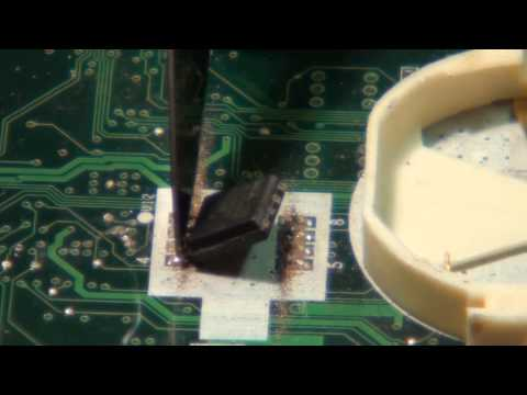 Grains BIOS Repair SPI-BIOS-chip-Removal-and-Refit.wmv | FunnyCat.TV