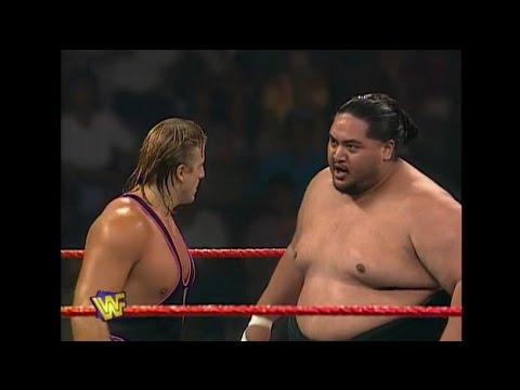 Yokozuna  vs  Owen Hart   |   Raw  06/10/96