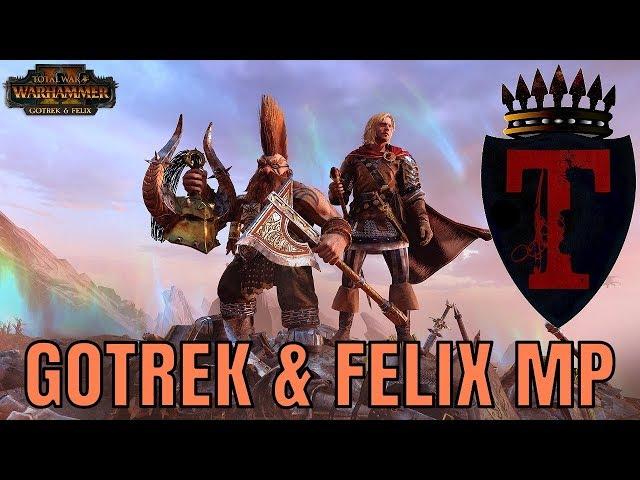 Gotrek & Felix Multiplayer Battles Live Stream | Empire, Bretonnia & Dwarfs - Total War Warhammer 2