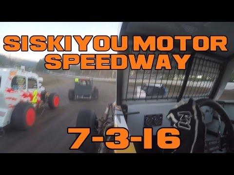 Siskiyou Motor Speedway 7-3-16