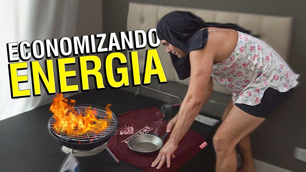 MÃE DE MARIVALDA ECONOMIZANDO ENERGIA