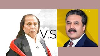 Amanullah vs Aftab iqbal  best comedy show video