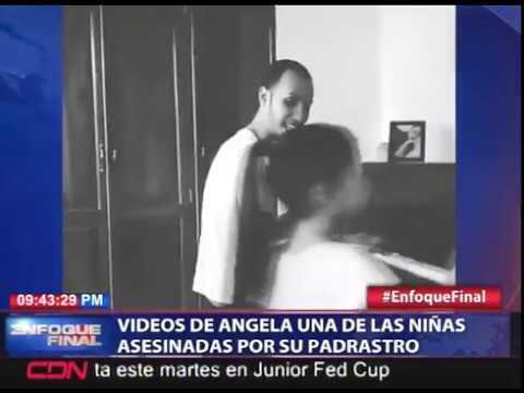 Publican video de una de las niñas asesinadas junto a su madre