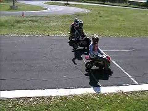 pocket bike track day