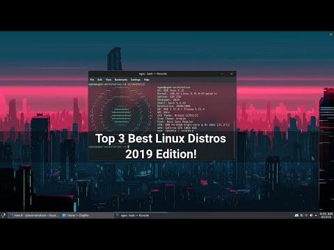 Top 3 Best Desktop LinuxDistros | 2019 Edition!