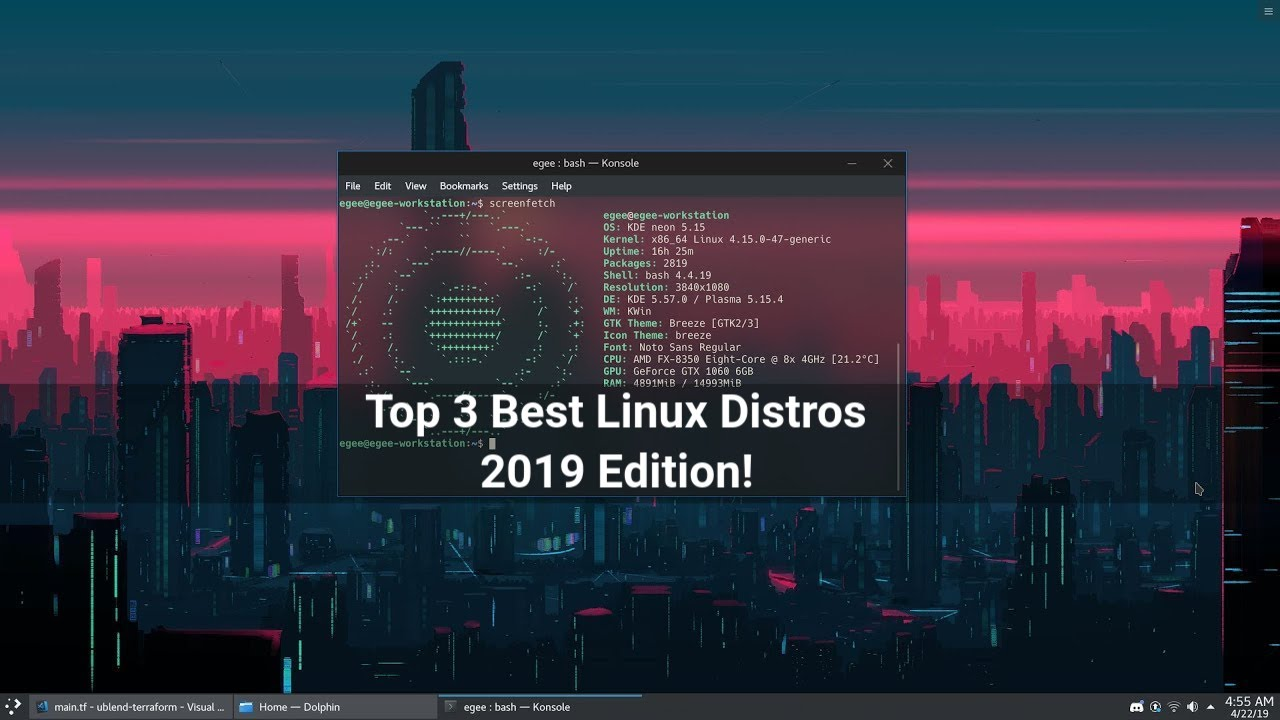 Best Linux 2019 Top 3 Best Desktop Linux Distros | 2019 Edition   YouTube