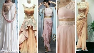 Latest Fashion Women Pink Dresses For Cocktail party // evening party // 2017-2018