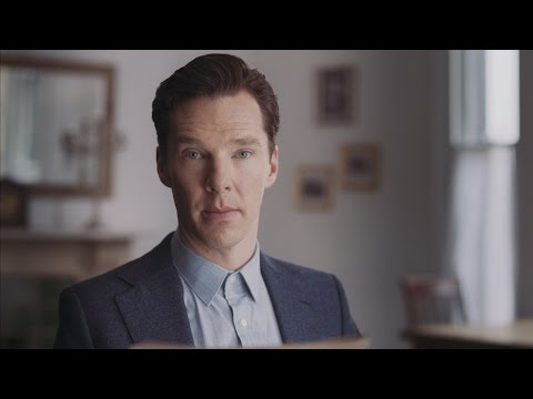 """Yours in distress"" Benedict Cumberbatch reads Alan Turing's letter to Norman Routledge"