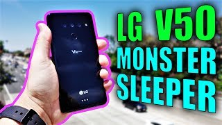 LG V50 Review: The Monster Sleeper Phone of 2019