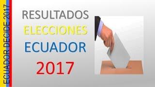 Resultados Elecciones Ecuador 2017 (Primera Vuelta)/ Santi Rashi Reports