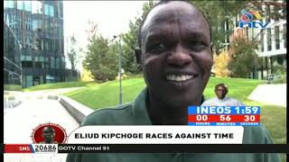 INEOS 1:59 Challenge: We are ready, says Eliud Kipchoge's coach Patrick Sang