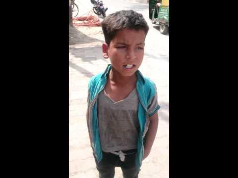 Sung by slum boy of kanpur (UP)