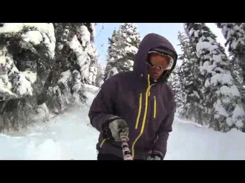 how to make a gopro ski pole mount