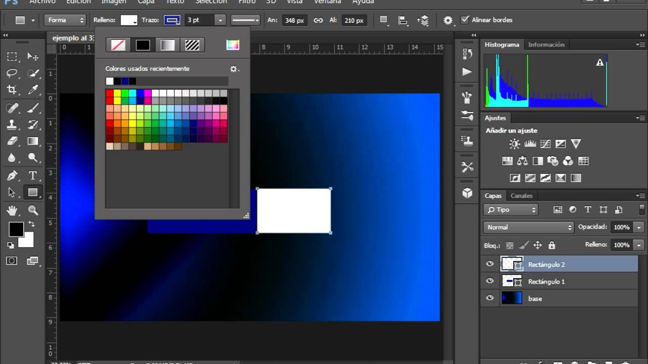 como hacer una plantilla con photoshop cs6 - YouTube