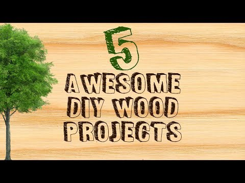 5 Awesome DIY Wood Projects For Beginners