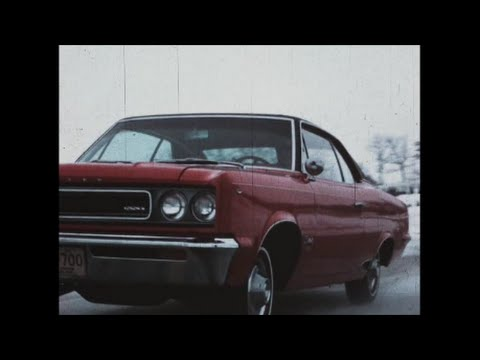 "1967 AMC Rambler Rebel   ""Skill takes the Wheel"" - Jackson Beck Narrated - Drivers Ed."