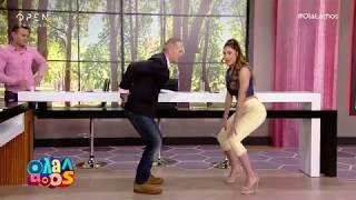 Μάθημα twerking από την Έλενα Κρεμλίδου - Όλα Λάθος | OPEN TV