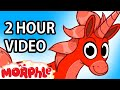 My Pet Unicorn (+ 2 hours of kids videos) Morphle