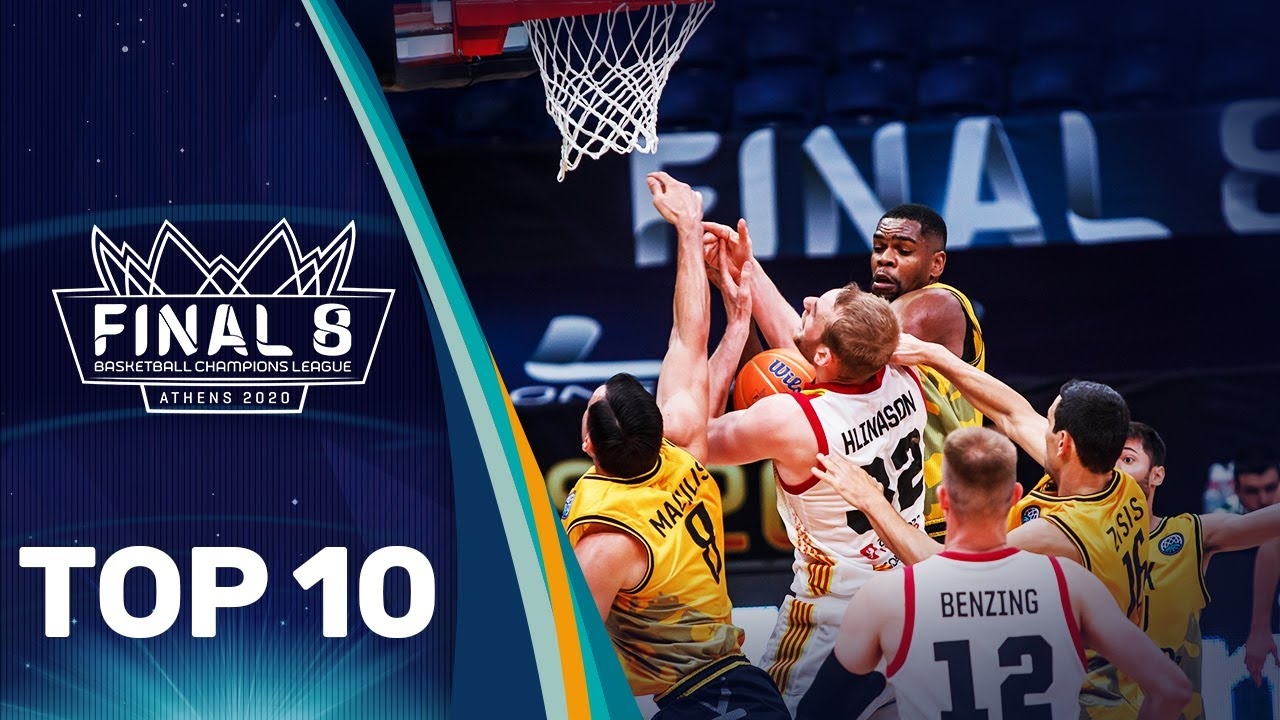 Top 10 Plays w/ Langford, McFadden, Rice & Co. | FINAL 8 | Basketball Champions League 2019