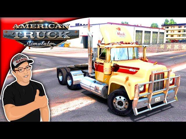 American Truck Simulator Mods Mack R Series Mod Review