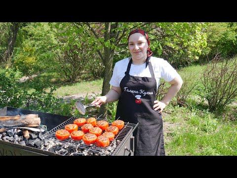 Женщина у мангала- это жесть? Фаршированный ПЕРЕЦ НА МАНГАЛЕ, цыганка готовит.