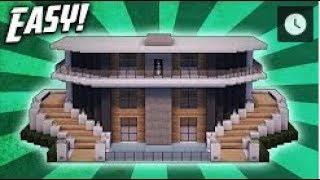 Minecraft Modern Ev Yapımı No:01