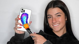 Surprising Charli D'Amelio With 20 Custom iPhone 11s!! ft. TikTok & LilHuddy (Giveaway)