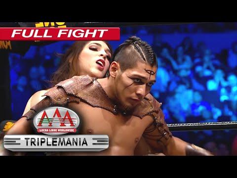 Campeonato en PAREJAS MIXTAS AAA en Triplemanía XXVI