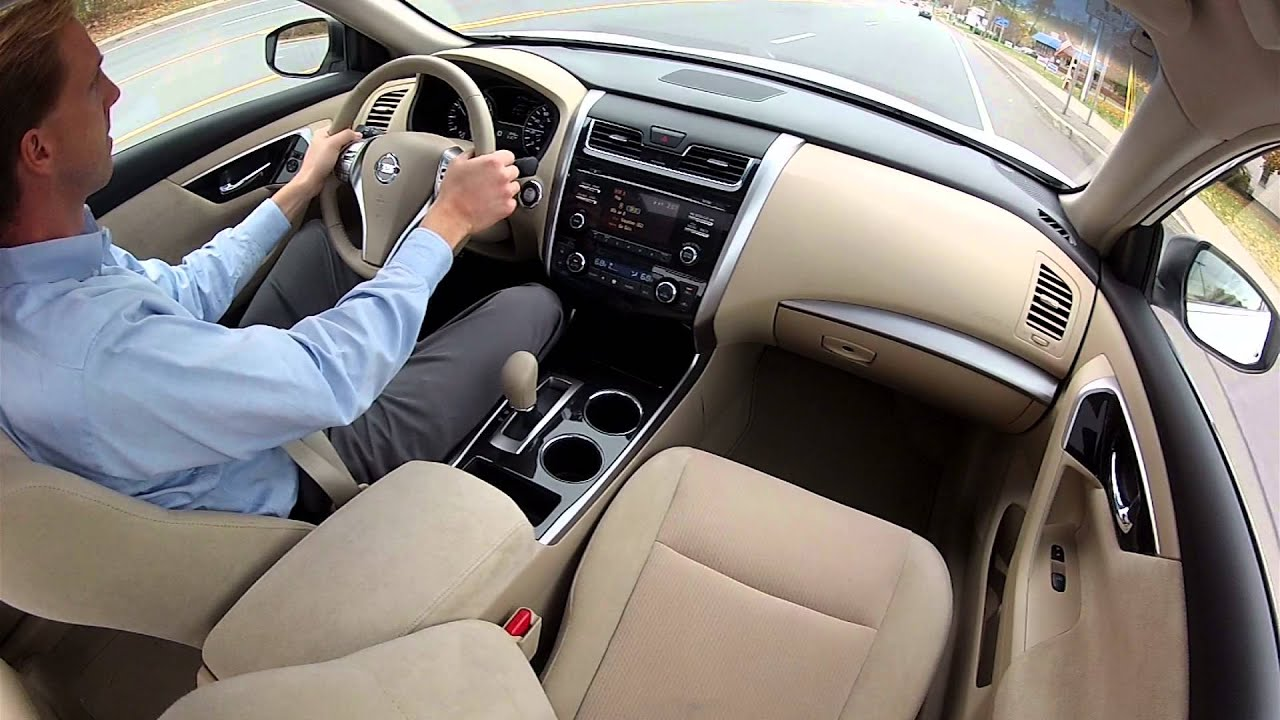 2013 Nissan Altima   Drive Time Review With Steve Hammes | TestDriveNow