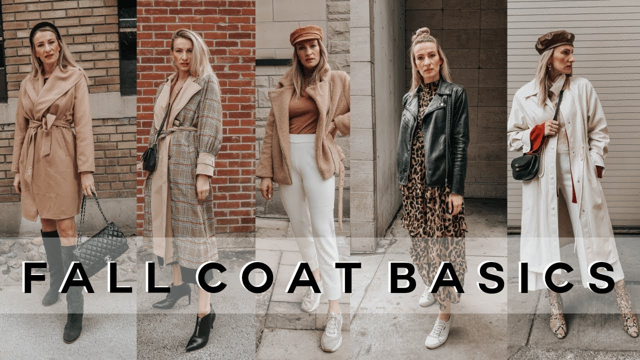 [VIDEO] - BASIC FALL JACKETS EVERYONE NEEDS | FALL OUTFITS LOOKBOOK | MON MODE 5