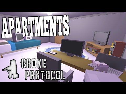 APARTMENT UPDATE - Broke Protocol Part 5 - Designing My own Apartment - Broke Protocol Update