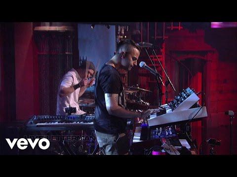 Passion Pit - Take A Walk (Live on Letterman)