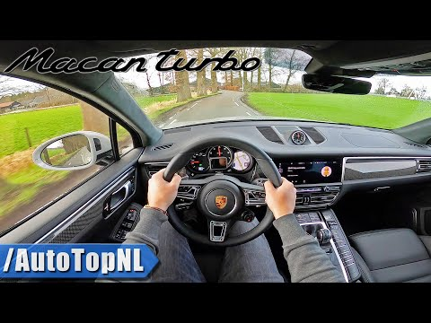 2020 Porsche Macan Turbo POV Test Drive by AutoTopNL