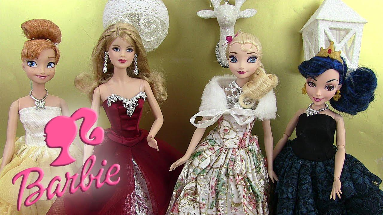 Poup e barbie merveilleux no l 2015 robes de princesses - Barbie princesse des neiges ...