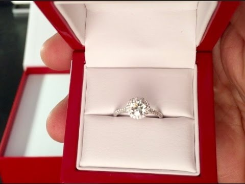James Allen Engagement Ring Unboxing